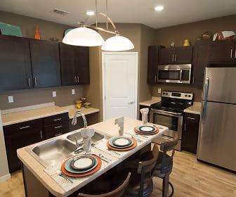 Kitchen, Deer Ridge Apartments