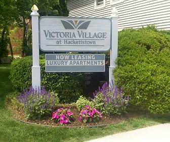 Community Signage, Victoria Village Apartments
