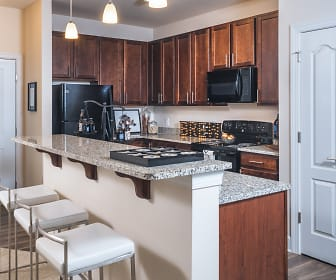 Granite in kitchens and baths, Abberly CenterPointe
