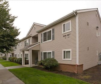 Goodrick-Spencer Apartments and Scruggs Townhomes, Portland, OR
