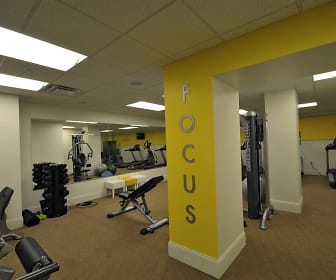 Fitness Weight Room, The Reserve 4th and Race