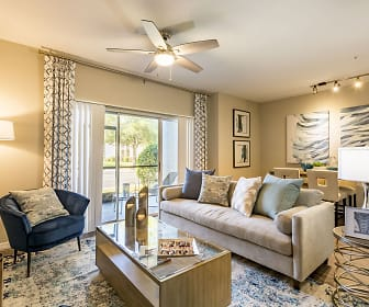 Living Room, The Arbors at Carrollwood Apartments