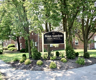 Community Signage, Penn Garden Apartments