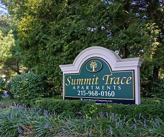 Community Signage, Summit Trace At Newtown