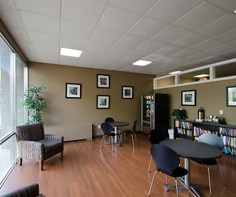 Have a seat and relax in our Lounge Area!, Executive Towers