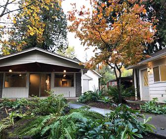 Back Patio & Artist Studio/Garden Cottage, 1000 SE Dogwood Ln
