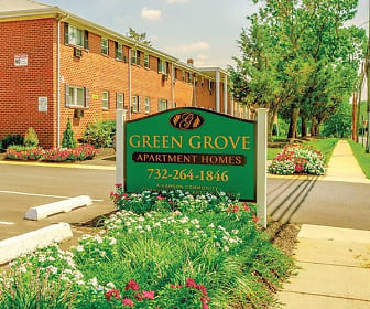 Community Signage, Green Grove Apartments