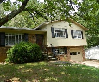 Building, 5421 Faucett Road