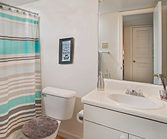 Bathroom, Auburn Pointe Apartments