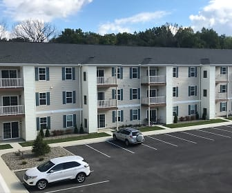 Building, TOWNE SQUARE SENIOR APARTMENTS