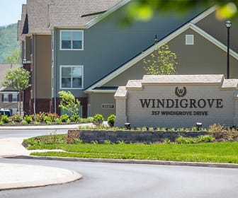 Community Signage, Windigrove Apartments
