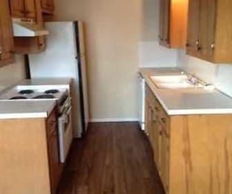 Kitchen, Phoenix Village Apartments