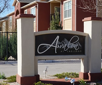 Community Signage, Avalon at Carlsbad Apartments, The