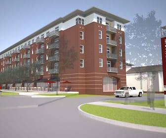 Rendering, College View - Mississippi State