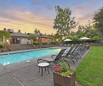 Pool, Sunset 320