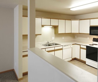 Kitchen, Amber Valley Apartments