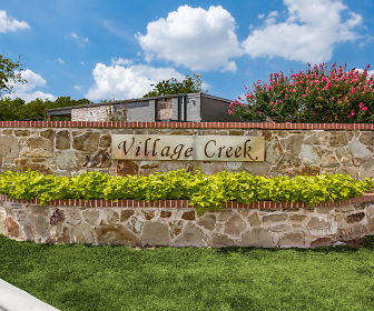 Community Signage, Village Creek Townhomes
