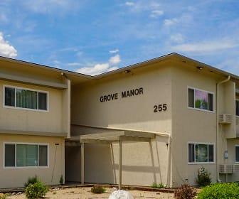 Building, Grove Manor