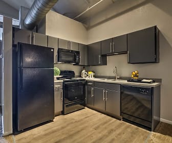 Kitchen, Park Lofts