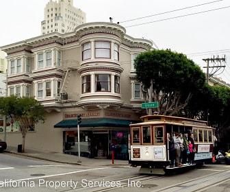 Union-Hyde Apartments, Fishermans Wharf, San Francisco, CA