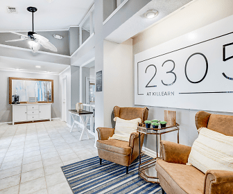 building lobby with tile flooring and a ceiling fan, 2305 At Killearn