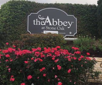 Community Signage, The Abbey at Stone Oak