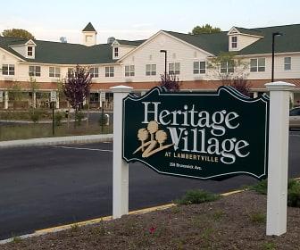 Community Signage, Heritage Village At Lambertville