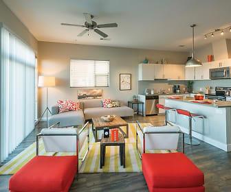 Kitchen, 1000 S Broadway Apartments