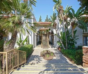 Building, Twin Oaks & Los Robles