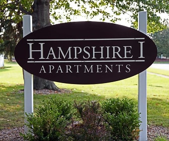 Community Signage, Hampshire I Apartments