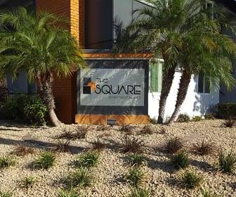 The Square, UEI College, CA
