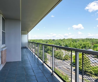 Patio / Deck, Chestnut Hill Tower