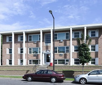 Building, Minnehaha Apartments