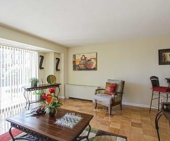 Living Room, Capitol Park Plaza Apartments