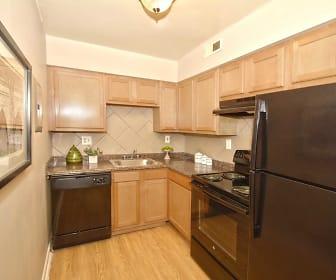 Kitchen, Oakmont Flats