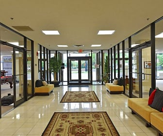 Foyer, Entryway, First Place Luxury Apartments