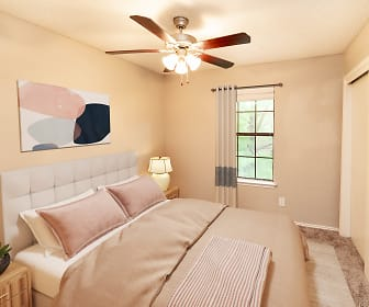 Bedroom, Monterra Pointe Apartment Homes