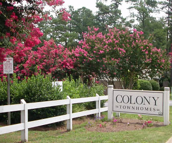 Colony Townhomes, Northwest Raleigh, Raleigh, NC
