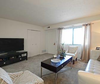 Living Room, Oakwood Apartments