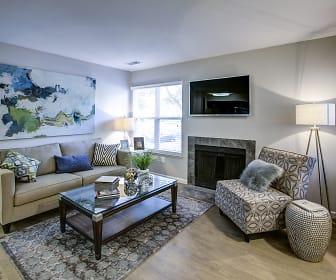 Living Room, Spyglass at Cedar Cove Apartments