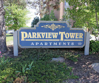 Community Signage, Parkview Tower