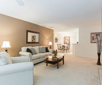 Living Room, Thornhill Apartments