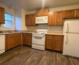 Kitchen, Great Bridge Apartments
