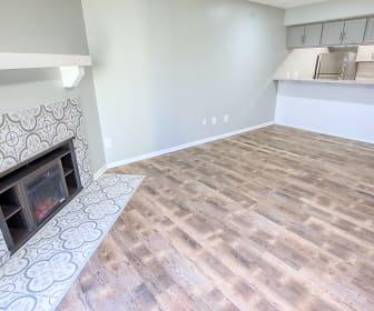 Fireplace, Sugar Bush Apartments