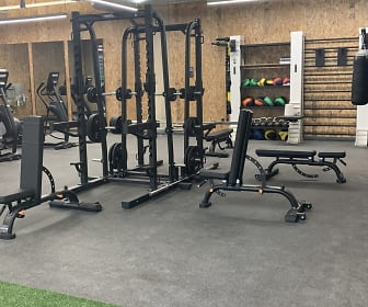 view of workout area, Brim & Crown