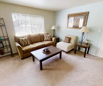 Living Room, Timberline Apartments