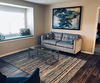Living Room, Arbor Ridge on West Friendly