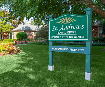 Community Signage, St. Andrews Apartments