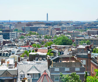 View of Washington Monument from Apartment, Ora