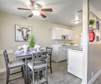 Kitchen, Wyandotte Apartments